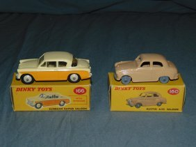 Dinky No.160 & No.166 In Original Boxes