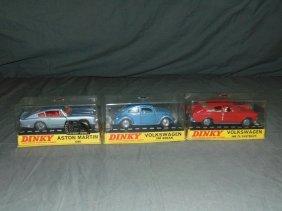 Dinky No.110, 129, & 163 In Original Boxes