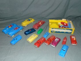 Lot Of Assorted Renwal Plastic Vehicles