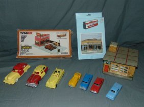 Toy Vehicle Lot Including Tootsietoy