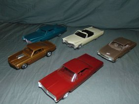 Lot Of 5 Automobile Promo Models