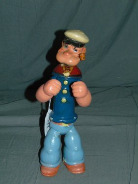 1935 Composition Ideal Popeye Character Doll