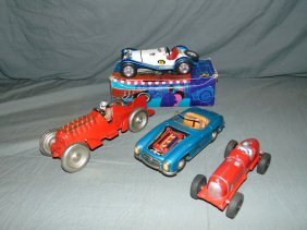 4 Piece Toy Vehicle Lot