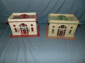 Lot Of 2 Lionel Pre-war Stations