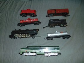 American Flyer S Gauge Locos & Freight Cars