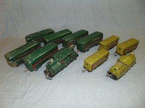 Lionel Lot, Electric Locos & Passenger Cars