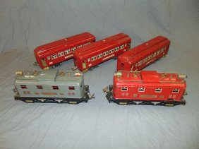 Lionel Pre-war, Electric Locos & Pass Cars