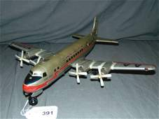 Linemar Tin Battery Op American Airlines DC 7