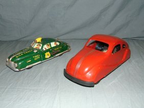 Two Piece Toy Vehicle Lot.