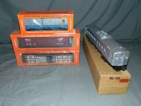 Lot Of Lionel Rdc - Budd Car & 2 Boxcars