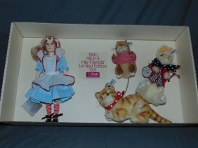 Suzanne Gibson Steiff Alice & Her Friends Set