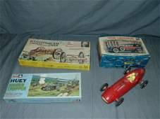3 1960s Model Kits  Gas Indy Car