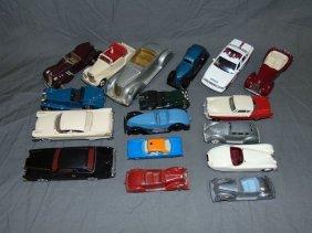 Mixed Diecast Model Car Lot
