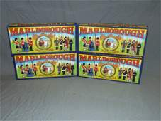 Lot of 4 Boxed Marlborough Toy Soldier Lots