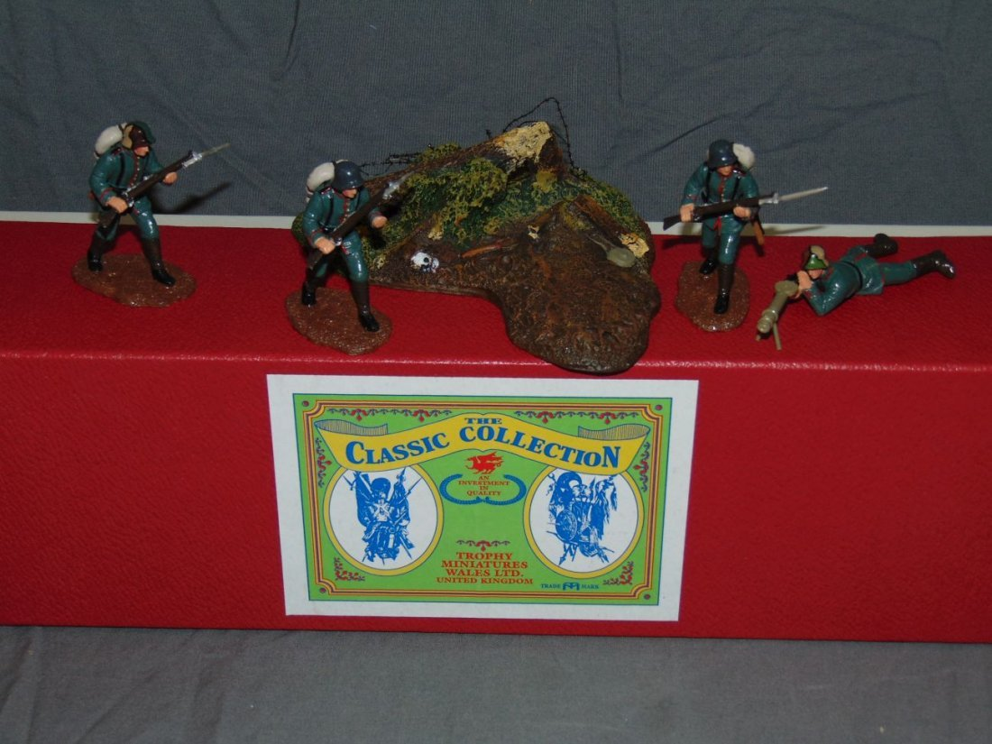 Britains and Trophy Miniatures Toy Soldiers - 2