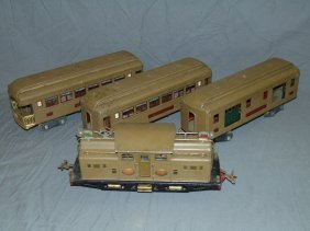 Lionel Standard Gauge Train Set.