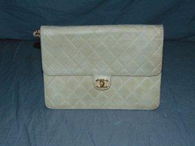 Chanel. Lambskin Leather Purse / Handbag