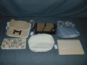 Vintage Designer Bags / Pouches. Lot Of 6