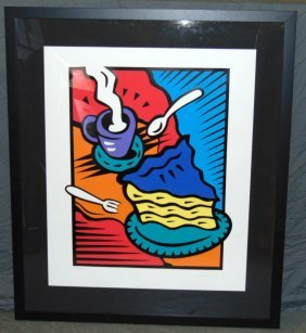 "Burton Morris ""afternoon Delight"" Signed Serigraph"
