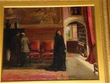 George Goodwin Kilburne I (1839-1924), Oil
