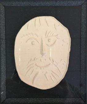 Pablo Picasso Terra Cotta Plaque