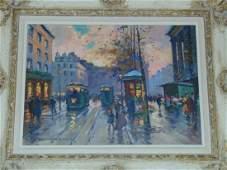Edouard Leon Cortes 1882  1969 Oil on Canvas
