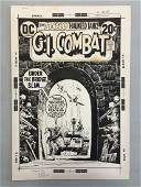 Joe Kubert. Original Cover Art. GI Combat #160