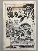 Joe Kubert. Original Cover GI Combat #255