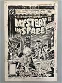 Joe Kubert. Mystery in Space Cover #111.