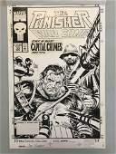 Joe Kubert. Original Punisher. Cover.