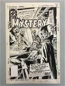 Joe Kubert. House of Mystery Cover #303.