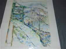 Jehudith Sobel (1924 - 2012), Watercolor