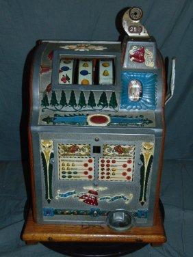 Mills 1776 Liberty Bell 25 Cent Slot Machine