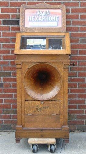Regina Hexaphone Coin Operated Phonograph