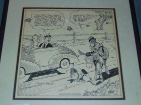 Original Black Americana Cartoon Illustration