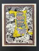 1968 Steve Miller Carousel  Concert Poster