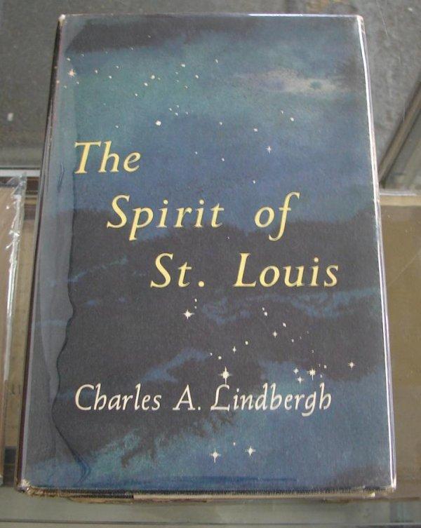 4: CHARLES LINDBERGH. THE SPIRIT OF ST. LOUIS.