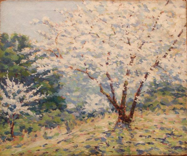 1003: OIL ON CANVAS SIGNED FRANCIS S. DIXON