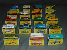 Matchbox Car Lot.