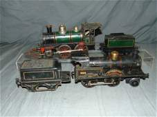 Lot of Two Pre War Live Steam Train Engines