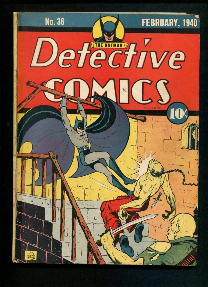 Detective #36 Appears Overall Fine.