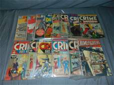 Crime and Detective Comic Lot Asst Titles