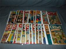 Assorted Comic Lot Crime Titles