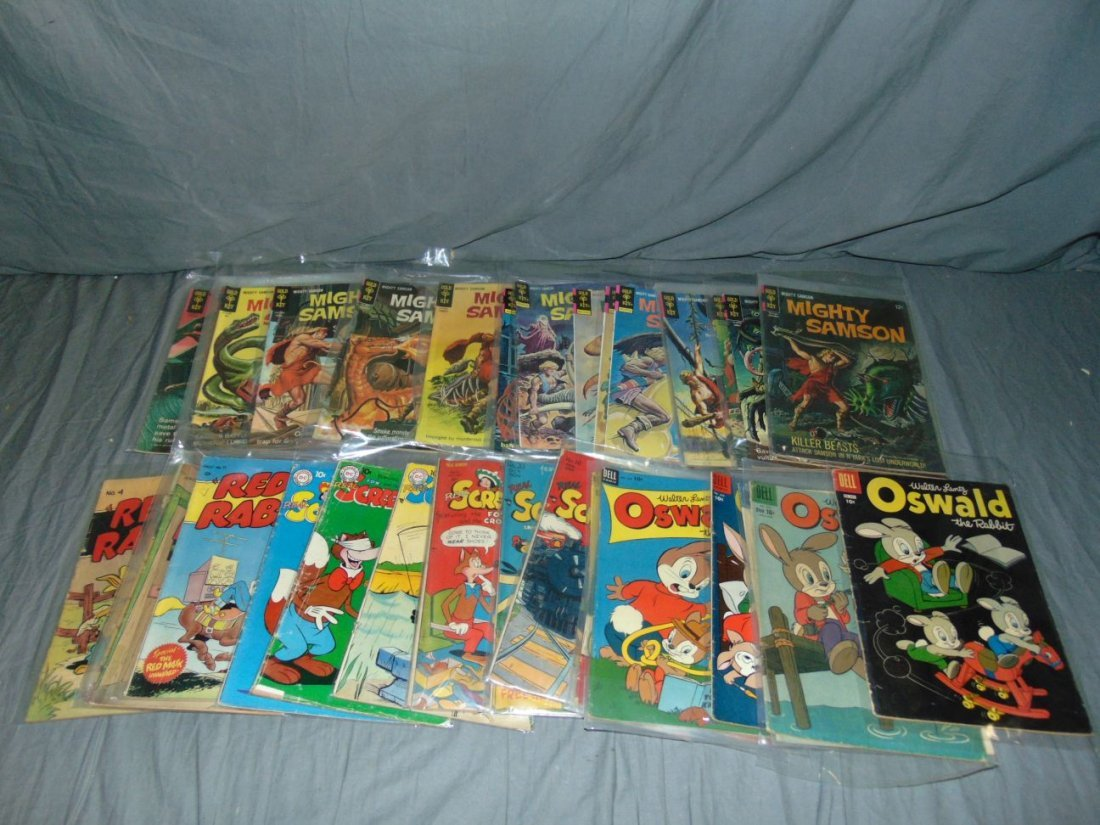 Assorted Comic Lot, Dell, Gold Key, and More