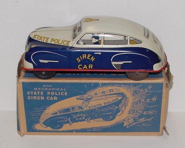 2008: COURTLAND. STATE POLICE CAR. MIB TIN LITHO WIND U