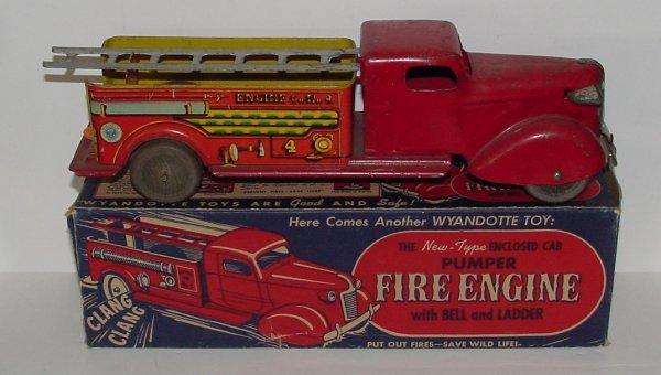 2012: WYANDOTTE. PUMPER FIRE ENGINE IN BOX. # 428 PUMPE