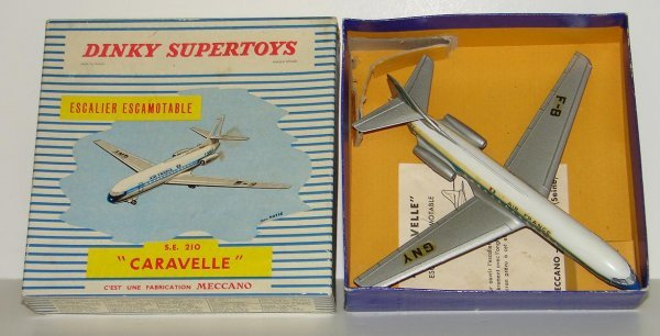 2024: DINKY. SUPER TOY. #891 BOXED AIRPLANE. ESCALIER E