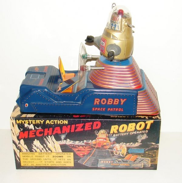 2091: LIMITED EDITION. ROBBY SPACE PATROL. BATTERY OPER