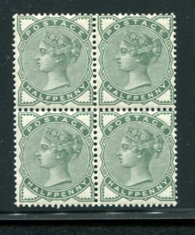Great Britain #78 Block of Four Mint NH.
