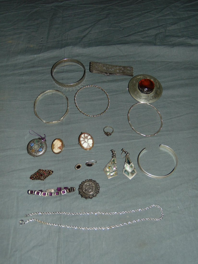Lot of Sterling and Coin Silver.